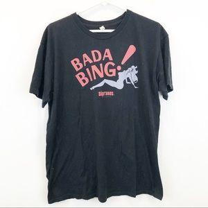 Other - Sopranos Bada Bing Black Graphic Tee
